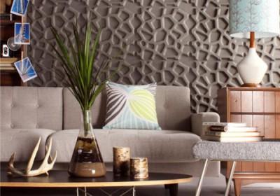 Tấm ốp 3D – Giải pháp trang trí tường cho không gian nhỏ hẹp