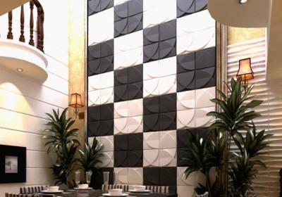 Thổi sức sống cho nội thất với tấm ốp tường 3d