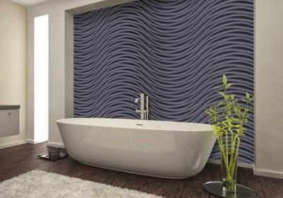 Xu hướng thiết kế nội thất: sử dụng gạch hay tấm ốp tường 3D?