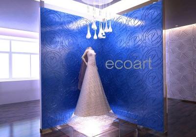Ý tưởng trang trí nội thất mới với tấm ốp tường 3D