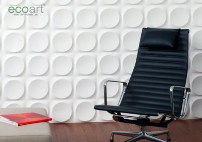 Bước tiến mới trong nội thất với tấm ốp tường 3D